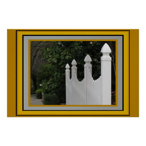 Poster - Picket Fence