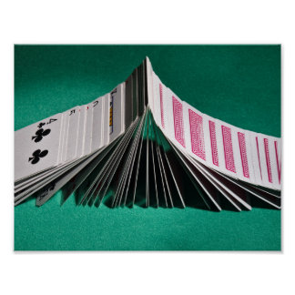 Poster: Playing cards Poker Domino Poster