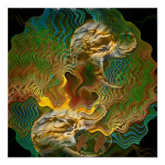 Poster Print: Changes in Topography