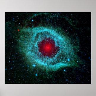 Poster/Print: Eye in the Sky - NASA Helix Nebula Poster