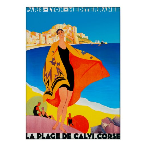 Poster/Print: French Riviera