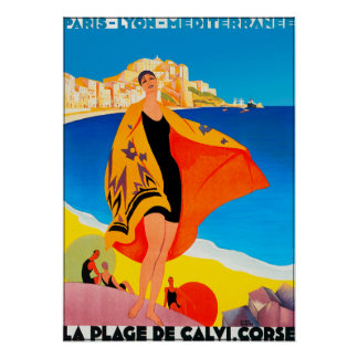Poster/Print: French Riviera Poster