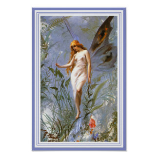 Poster/Print:  The Lily Fairy Poster