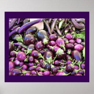 Poster - Purple Vegetables