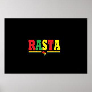 POSTER RASTA REGGAE