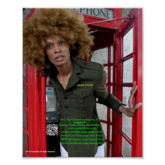POSTER sean360x London Red Phone Box