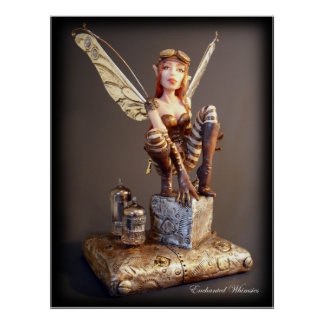 "Poster ""Steampunk Fairy"""