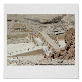 Poster Temple Hatshepsut Egypt