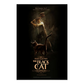 "Poster ""The Black Cat """