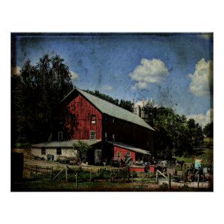 Poster-The Cluttered Barn