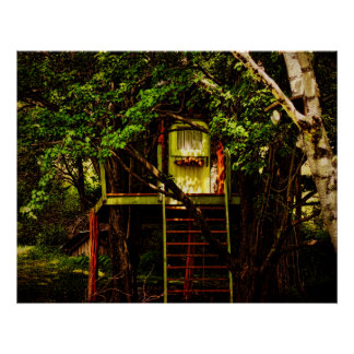 Poster-Tree House of Imagination