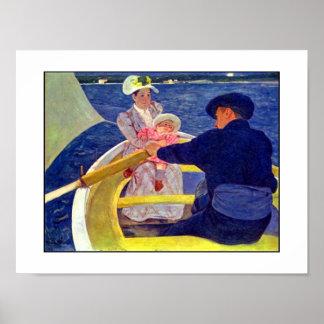 Poster Vintage Art Mary Cassatt 1845-1926 Poster