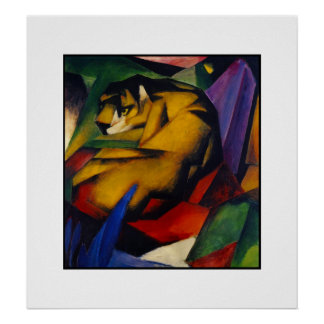 Poster Vintage Art The Tiger
