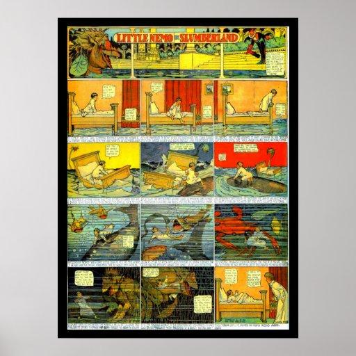 Poster-Vintage Comic-Little Nemo 1