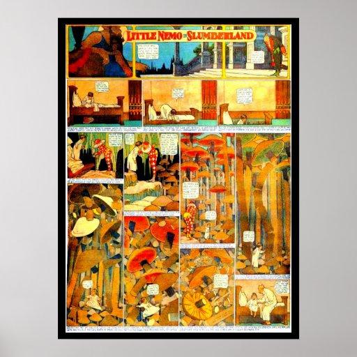 Poster-Vintage Comic-Little Nemo 4