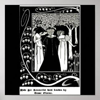 Poster-Vintage Illustration-Aubrey Beardsley 5 Poster