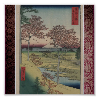 Poster-Vintage Japanese Art-Ando Hiroshige 10 Poster