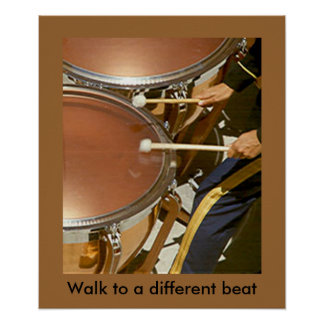 Poster - Walk to a different beat