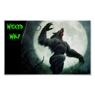 Poster Wicked Wolf Poster