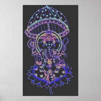 PosterGanesha Elephant goddess Poster