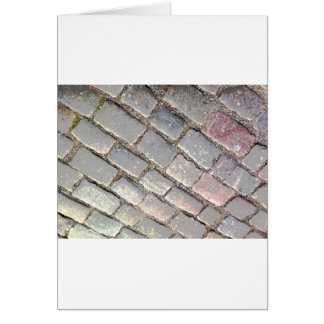 Posterized Cobbles Card