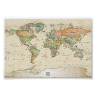 Posters - World Map