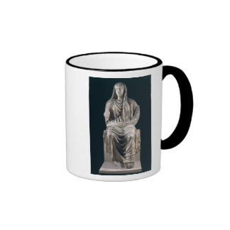 Posthumous statue of Livia  from Velleia Ringer Mug