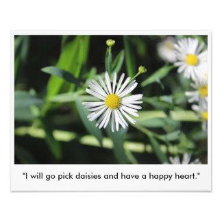 Postive Quote Photo Print