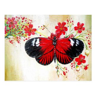 Postman Butterfly Postcard