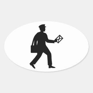 Postman Oval Sticker