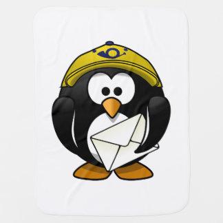 Postman Penguin Bird Cartoon Buggy Blankets