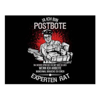 Postman Postcard