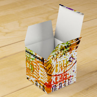 postmark montage party favour box