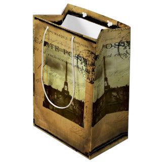 Postmarked Paris Medium Gift Bag