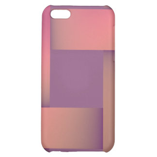 Postmodern pastel colors shades of mauve iPhone 5C cover