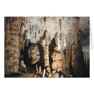 Postojna Caves (Blank Card) Card