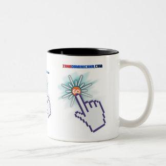 Posuelo Blanco Two-Tone Coffee Mug