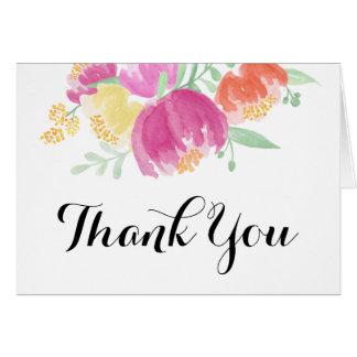 Posy Garden | Thank You Note Card