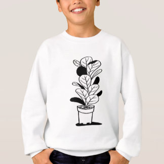 Pot and Plant 01 Sweatshirt