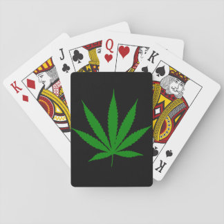 Pot Leaf Playing Cards