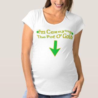 Pot O' Gold Maternity T-Shirt