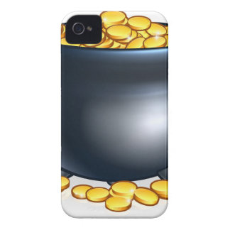 Pot of Gold Coins iPhone 4 Case-Mate Case