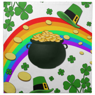 Pot of gold napkin
