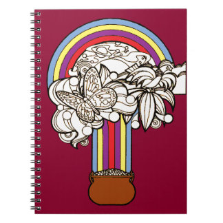 Pot of Gold Spiral Notebook