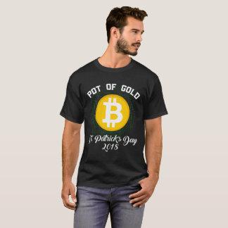 Pot Of Gold St Patrick's Day 2018 Bitcoin Crypto T-Shirt
