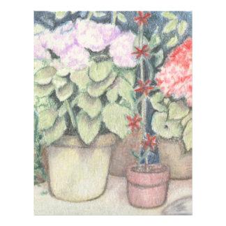 Pot Plant Art Flyer