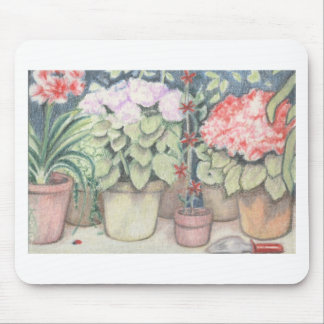 Pot Plant Art Mousepad