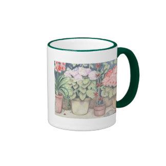 Pot Plant Art Mug