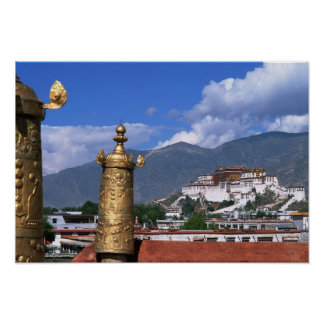 Potala Palace in Lhasa, Tibet taken from Poster