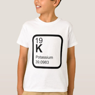Potassium - Periodic Table science T T-Shirt